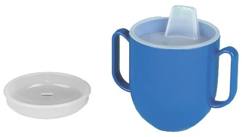 Ableware 745940000 No-Tip Weighted Base Cup wth Spill Proof