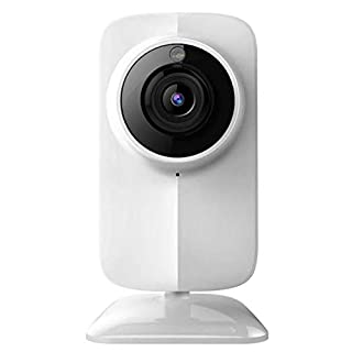 LinkSprite smartremotecamera Indoor Security Camera 720p WiFi IP Night Vision Camera Motion Detection Cloud Recording iOS and Android