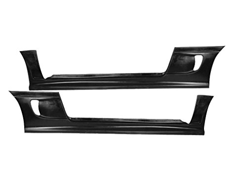 Mitsubishi Eclipse 1995-1999 (Eagle Talon 1995-1998) Blits Style 2 Piece Polyurethane Side Skirts made by KBD Body Kits. Extremely Durable, Easy Installation, Guaranteed Fitment and Made in the USA!