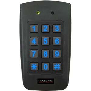 Rosslare Us Single Gang Backlit Prox & PIN Reader - Convertible Ayc-f64 by Rosslare security products