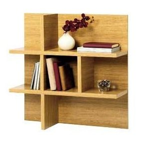 Shelving Unit Wall Mounted Oak Linear *Brand New*: Amazon.co.uk ...