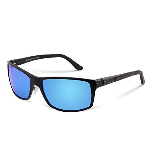 pilote Nouvelles de style 9018 soleil vue Bleu de polarisées Lunettes Lunettes Duco AaHwxqzpq