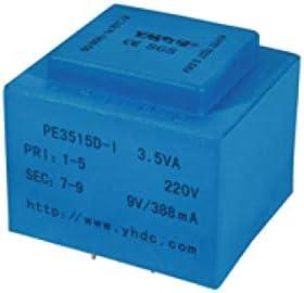YHDC PCB Transformador de aislamiento de soldadura PE3515-I 3,5 VA 110 V/24 V