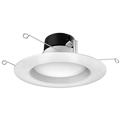 Satco S39727 9 watt LED Downlight Retrofit; 5-6; 5000K; 120 Volts; Dimmable Replaces S29727 8-Pack