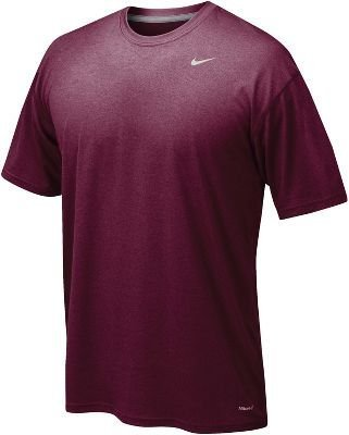 Shirt Nike Cardinal Red (Nike Legend Poly Top Mens Medium Cardinal)