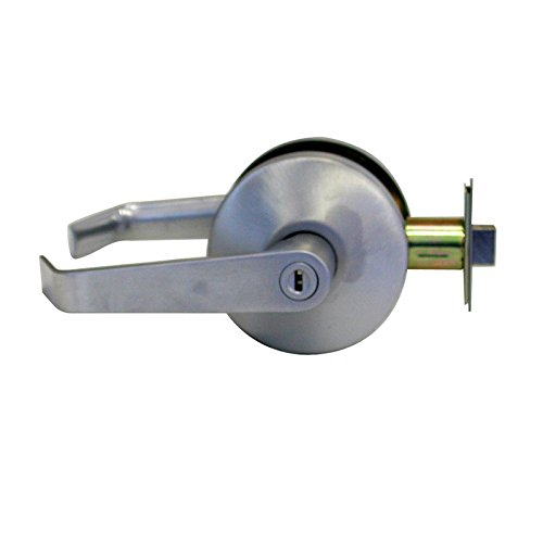 - Falcon B301S D 626 B Series Grade 2 Medium Duty Cylindrical Chasis Non-Handed Lock, Privacy Function, Keyless Cylinder, Dane Lever, Satin Chrome Finish