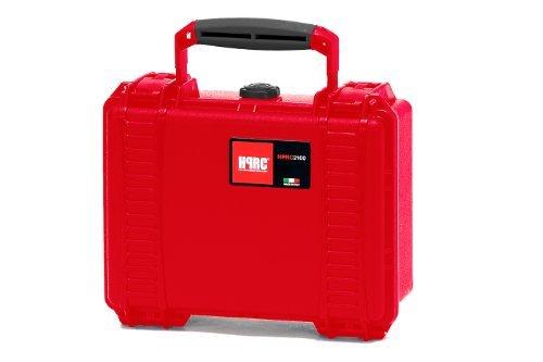 HPRC 2100F Hard Case with Cubed Foam (Red) [並行輸入品]   B07465Z8X5