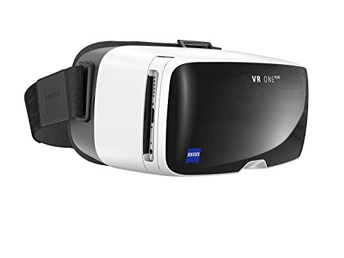 ZEISS - VR ONE Plus Headset, Dive into a World of Virtual Reality, Designed for Comfort and Ease of Use with World Leading Optics, White & Black (Renewed)