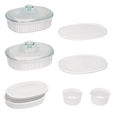 Corningware French White Bake and Serve Sets