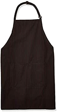 Uncommon Threads Womens Adj Butcher Apron 2 Section Pkt Uniform Apron