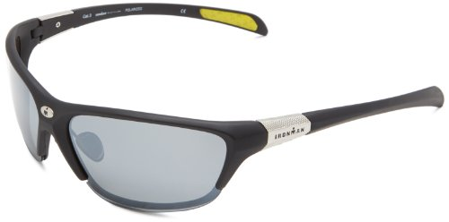 Ironman Driven Semi-Rimless Sunglasses,Matte Black Rubberized,118 - Sunglasses Driven