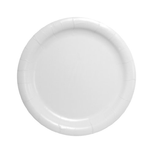 Solo HP9S-2050 9 in White Paper Plate, Heavy Weight (Case of 500) ()