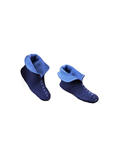 Raikou Reale Stivali Calze Marina A Per blu Babbucce In Pantofole Soffice Super Casa Donna Morbido Antiscivolo Pantofola rfOarxBwq