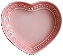 WAIT FLY Sweet Heart-shaped Ceramic Dinner Plates Dessert Plates Salad Bowls Soup Bowls Seasoning  sc 1 st  Amazon.com & Amazon.com: Pink - Dessert Plates / Plates: Home \u0026 Kitchen
