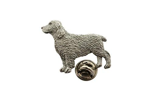 (Springer Spaniel Pin ~ Antiqued Pewter ~ Lapel Pin ~ Sarah's Treats & Treasures )