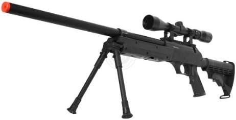 470 FPS WellFire APS SR-2 Modular Full Metal Bolt Action Sniper Rifle w Scope PKG MB06D