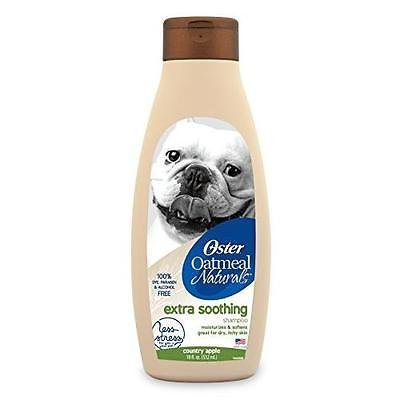 Oatmeal Naturals dog Shampoo with oatmeal and wholesome ingredients - (Oster Hypoallergenic Shampoo)