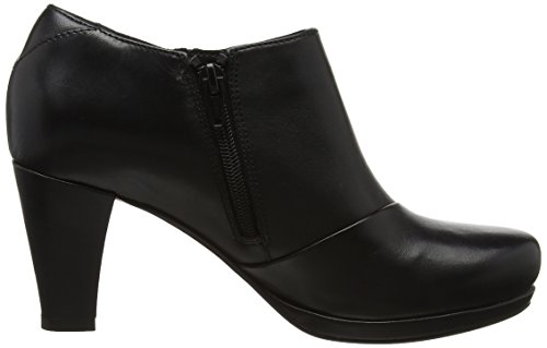 Clarks Stivali Donna Chorus Leather Black Jingle Nero FFrvqUw