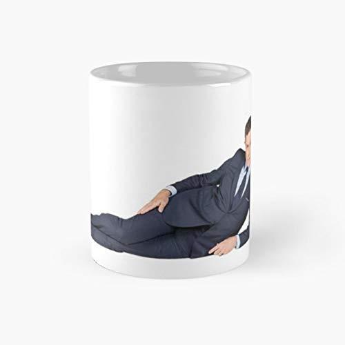 Late Show With Stephen Colbert Mug, stephen colbert Cup, 11 Ounce Ceramic Mug, Perfect Novelty Gift Mug, Funny Gift Mugs, Funny Coffee Mug 11oz, Tea Cups 11oz ()