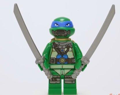 Lego Teenage Mutant Ninja Turtles Minifiguren Leonardo with ...