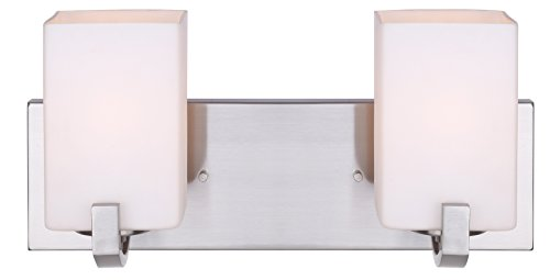 (Canarm IVL422A02BN Palmer 2-Light Bath Vanity)