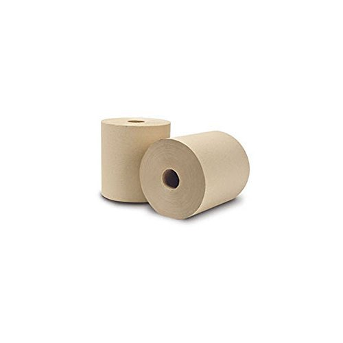 (Wausau Paper 31300 EcoSoft Brown 800 Ft Roll Towel - 6 / CS by EcoSoft)