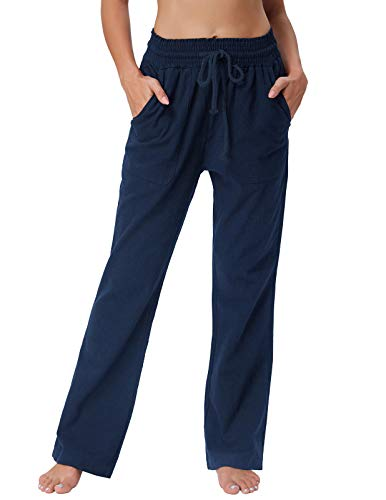GRACE KARIN Women's Pull-On Relaxed Leg Pant Elastic for sale  Delivered anywhere in USA