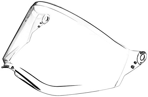 O'Neal Sierra II Unisex-Adult Helmet Replacement Shield (Clear, One Size)