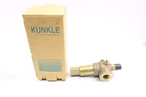 NEW KUNKLE 912BDCM01-JE 100PSI 1/2 IN NPT 34GPM SAFETY RELIEF VALVE (Kunkle Relief Valve)