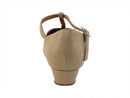 Femmes Salle De Bal Chaussures De Danse Salsa Chaussures Pratique Latine 6006fteb Confortable, Très Bien [paquet De 5] 1 Tan Pu