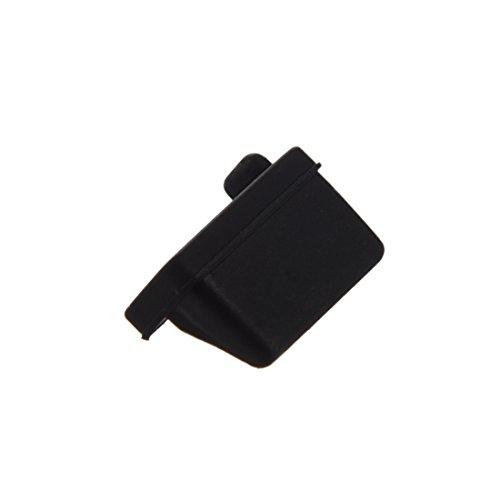 dustproof plug - SODIAL(R) 10 pcs Silicone USB port plug dustproof plug stopper protection cap black by SODIAL(R) (Image #3)