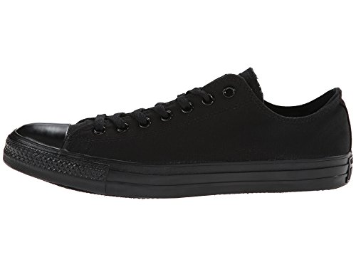 Zapatillas de deporte monocrom¨¢ticas negras monocrom¨¢ticas Chuck Taylor All Star Low Top - 3.5 D (M) US