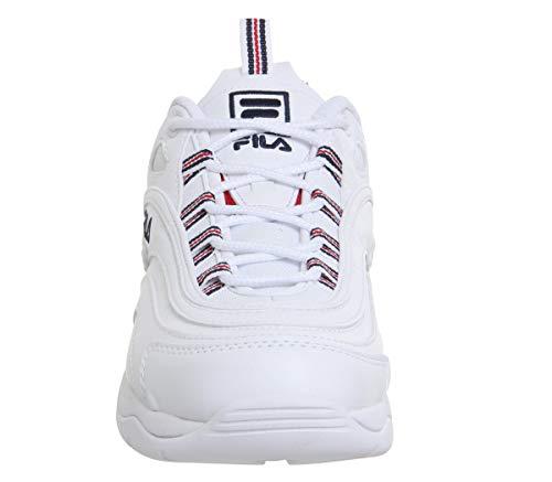 Ray Red Fila WhiteNavy Bianco Donna Sneaker rosso marina UMGpSLqVz