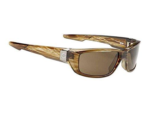 Spy Optic Dirty MO Sunglasses (Brown stripe tortoise,Bronze)
