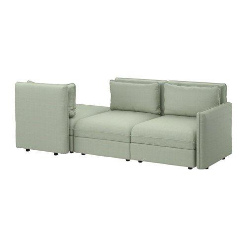 Ikea Sleeper sectional, 3-seat, Hillared green 10204.20817.346
