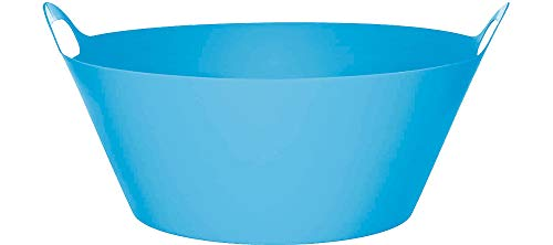 Blue Plastic Party Tub -