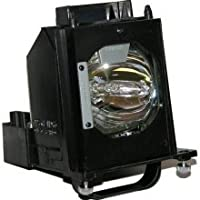 Electrified E-915B403001 Replacement Compatible Lamp with Housing for WD-60735 Mitsubishi Televisions