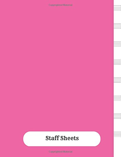 Download Staff Sheets: Empty Staff, 8 Stave Manuscript Sheets Notation Paper For Composing For Musicians,Teachers, Students, Songwriting. Book Notebook Journal 100 Pages 8.5x160 pdf epub