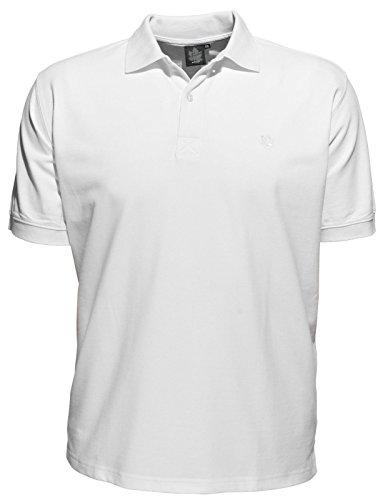 Polo Shirt von Ahorn Sportswear, weiß, ab XXL bis 10XL verfügbar