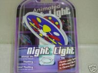 First Alert Animated Night Light-flying Saucer ()