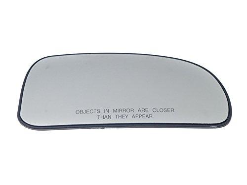 APA Replacement For 02-09 GMC Envoy Rainier Bravada Chevy Trailblazer Mirror Glass W//Plate Heated Right 88980571