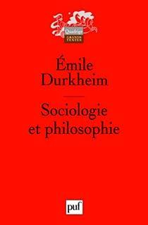 Sociologie et philosophie par Durkheim