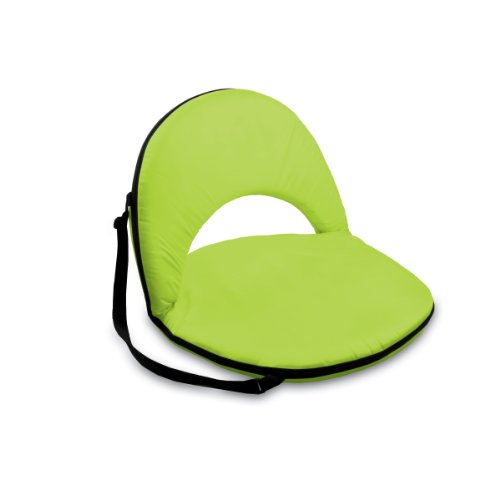 Picnic Time Portable Recreation Reclining 'Oniva' Seat, Lime