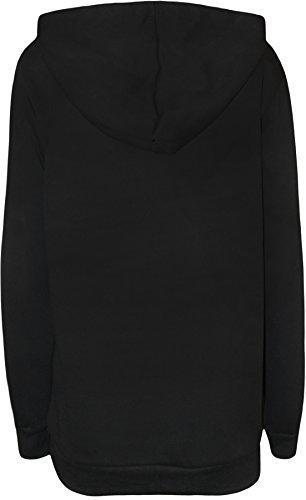 Love Celeb Look - Sudadera con capucha - para mujer negro