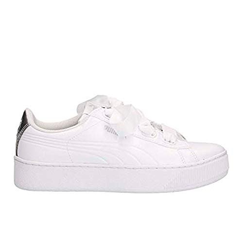 Sl Bianco Metal Argento Bianco Puma Vikky Platform 01 367816 42 Sneakers Ribbon RqaSIw