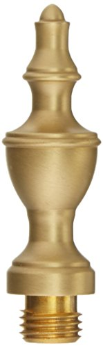 Baldwin 1091034I Urn Tip Hinge, Unlacquered Vintage Brass ()