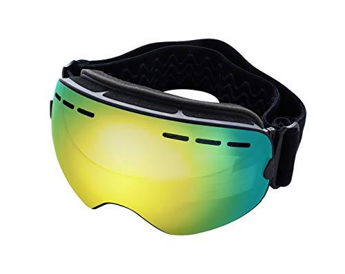 Mira - Ski Goggles - Anti-Fog, Anti-Wind, UV400 Protection - OTG Wear Over Glasses - Snowboarding Goggles for Men, Women, Kids - Changeable Lenses