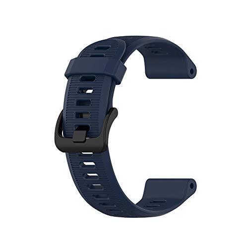 wpOP59NE Watch Band,Watch Band Strap for Garmin Forerunner 945/935 Fenix5/5Plus Quatix5 Adjustable Silicone Material Midnight Blue