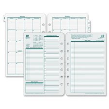 Original Refill, Classic, Jan-Dec, 5-1/2x8-1/2, Sold as 1 (Original Organizer Refills)