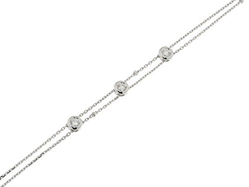 Bracelet Or 750 Diamant ref 38310